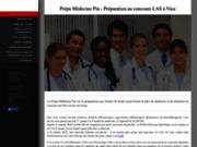 screenshot http://www.prepa-medecine-pin.com/ Prepa medecine