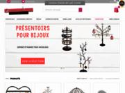 screenshot http://presentoirs-pour-bijoux.com/ présentoirs et porte bijoux,emballage pour bijoute