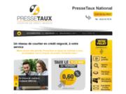screenshot http://www.pressetaux.fr/ PresseTaux