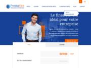 screenshot http://www.prestaflex-service.ch services financiers et assurances en Suisse
