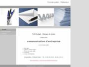 screenshot http://prete-moi-ta-plume.com le rédacteur des petites entreprises