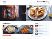 screenshot http://www.prettychef.fr/ recettes de cuisine simples