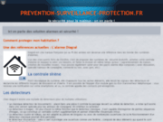 screenshot http://www.prevention-surveillance-protection.fr agence de gardiennage paris