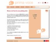 Prima Voce Editions : partitions d'Opéra et d'Opérette
