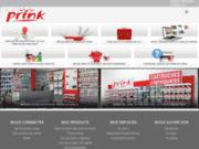 screenshot http://www.prink.fr prink