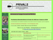 screenshot http://www.privals.fr privals et l'argue de trévoux
