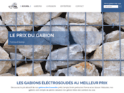 screenshot https://prix-gabion.com Prix du gabion