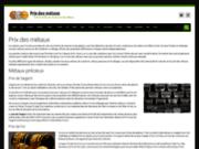 Informations et actualités sur les métaux