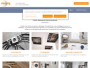 Pro'Fil - Conception et préparation de solutions en électricité, plomberie, chauffage et ventilation