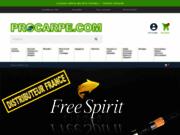 screenshot http://www.procarpe.com/accueil.php procarpe.com