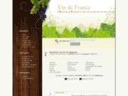 screenshot http://www.producteurs-vins.fr vin français