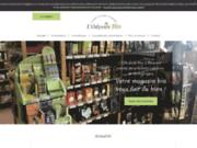 screenshot http://produits-bio-magasin.fr l'odyssée bio