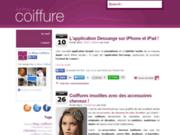 screenshot http://www.produits-coiffeur.com le blog coiffure
