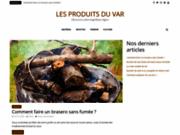 screenshot http://www.produits-du-var.com produits du var vente en ligne de la cote d azur