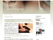 screenshot http://www.produits-esthetique.com le blog esthétique