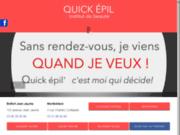 screenshot http://www.proepil.com/ quickepil proepil instituts de beauté à belfort et montbéliard