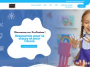 screenshot https://www.profissime.com/ profissime