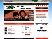 screenshot http://www.proftennis.com Cours de tennis