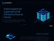 screenshot http://www.promatec.tm.fr promatec ssii: ventes et services informatique