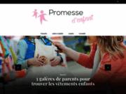 screenshot http://www.promessedenfant.be Promesse d'enfant