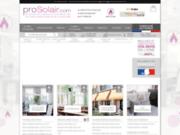 Prosolair, vente de stores et rideaux pour les professionnels