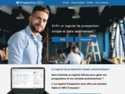 screenshot http://www.prospective-fr.com logiciel gestion commerciale