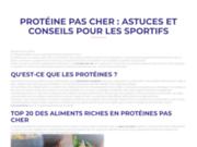 ProteinePasCher.fr lance LaGlutamine.fr