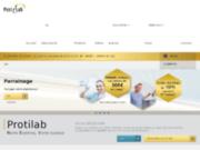 screenshot http://www.protilab.com protilab, laboratoire dentaire
