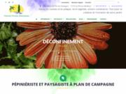screenshot http://www.provence-paysages-mediterranee.com pépiniériste et paysagiste