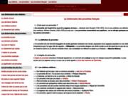 screenshot http://www.proverbes-francais.fr/ proverbes français: proverbe citation