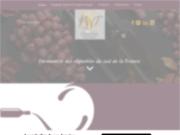 screenshot http://www.prowinetour.com PROWINETOUR agence événementielle autour du vin