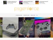 screenshot http://www.psgenforce.net psgenforce