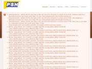 screenshot http://www.psh-hydraulique.com/ psh : location de matériel de compaction