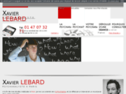 screenshot http://www.psychanalyste-xavierlebard.com/ psychanalyste paris 13, psychanalyse dépression