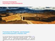 Séances de psychologie-psychothérapie par Francesca De Rugeriis