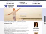 screenshot https://www.psychotherapeute-doussot.fr/ Psychologues Doussot à Bretigny-sur-Orge