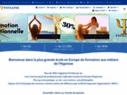 screenshot http://www.psynapse.fr pnl, sophrologie, hypnose - formations