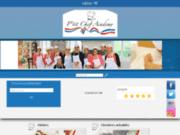 screenshot http://www.ptitchefacademy.com atelier culinaire et arts de la table,