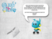 screenshot http://pub-axecible.com agence spécialisée dans la communication et le marketing
