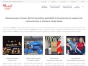 Pub Consulting, votre communication sur tous supports