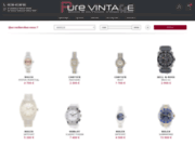 Montres et bijoux d'occasion Pure Vintage