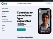 Qare vidéoconsultation avec un médecin français