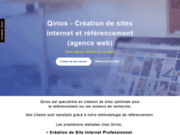 screenshot https://qirios.fr Qirios