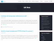 Qr Web  Création de site Internet