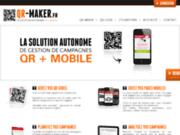 QR MAKER - Solution gestion de campagnes QR Codes + Mobile