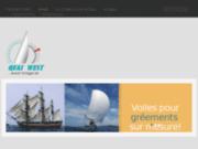 screenshot http://www.quai-west-nautique.com fabricant voiles bateaux et voiliers