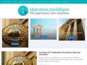 Vos questions et nos réponses juridiques