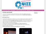 screenshot http://www.quiz-interactif.com agence de communication marseille