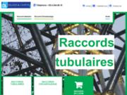screenshot http://www.raccords-tubulaires.com/ Les structures métalliques avec les raccords tubulaires Delrez & Lourtie