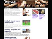 Musculation, le rameur
